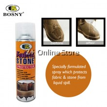BOSNY Fabric & Stone Protector Liquid Texture Safety Protect Water Clothes Stone Spray 600CC [ONLY FOR WEST MALAYSIA]