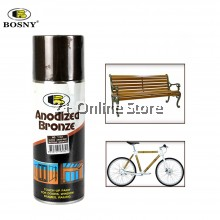 BOSNY Anodized Bronze Gloss Antique Spray Paint 400ml [ONLY FOR PENINSULAR MALAYSIA]