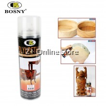 BOSNY Polyurethane Protective Spray Extra Durable Clear Protective Finish Wood Furniture Protect 600ml [ONLY FOR WEST MALAYSIA]