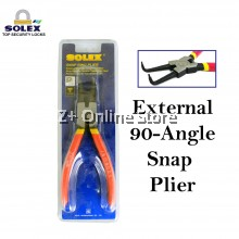 SOLEX External 90-Angle Snap Plier Needle Nose Circlip Oil Seal Snap Ring Plier Hand Tool