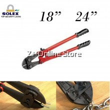 """SOLEX Bolt Cutter Heavy Duty Bolt Clipper DIY Tool Hand Tool Cutting Padlock Chain Wire Mesh Multifunctional Cable Clipper 18""""  24"""""""