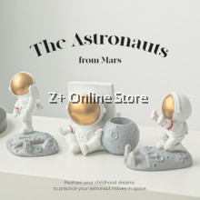 Z PLUS Karate Astronaut Phone Holder Creative Mobile Phone Stand Holder iPad Stand Holder
