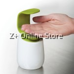 Z PLUS C-Shaped Bathroom Toilet Basin Soap Shampoo Hand Wash Liquid Dispenser (Green)