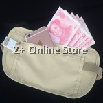 Z PLUS Slim Travel Hidden Secret Security Money Body Waist Pouch Wallet Bag