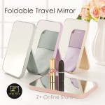 Z PLUS Rectangular Cosmetic Stand Facial Make up Mirror (Nordic Colour Series)